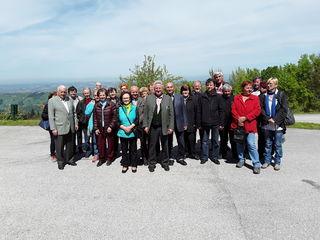 Der Ausflug führte die Senioren in die Basilika Sonntagberg.