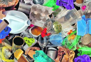 Altstoffe sind auch Wertstoffe. Im ASZ abgegebener Abfall landet bei Verwertern, wo er recycelt wird.
