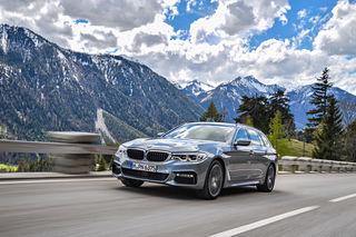 BMW 5er Touring:  Startet ab 54.750 Euro für den 520d mit 190 PS und Sechsgang-Schaltung. Ab November auch mit xDrive.