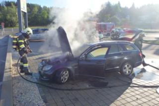 Totalschaden: Der Mercedes war nicht mehr zu retten