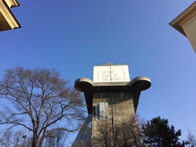 Hoch hinaus: Mit dem Panoramalift wird man dann direkt auf die oberste Plattform des Flakturms fahren können.