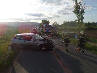 Gestern kam es zu einem schweren Unfall auf der Silberegger Landesstraße