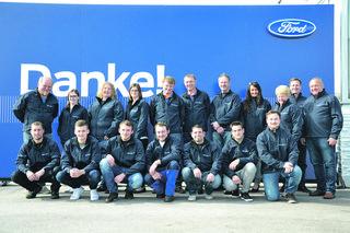 Das Psotka-Team darf sich zurecht über den Chairman's Award freuen –und das bereits zum fünften Mal. Laut Firmeninhaber Reinhard Psotka machen die engagierten Mitarbeiter einen gewichtiger Teil des Erfolgsgeheimnisses des Autohauses aus.