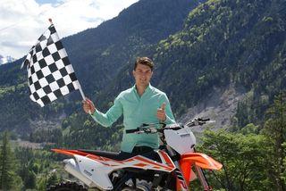 Organisator Moritz Unterkofler freut sich auf das Rennen, die Vorbereitungen laufen perfekt.