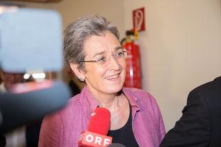 Spitzenkandidatin für die NR-Wahl: Ulrike Lunacek