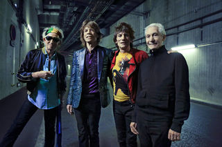 Cool wie eh und je: Keith Richards, Mick Jagger, Ronnie Wood, Charlie Watts. Foto: Claude Gassian