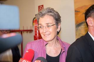 Tagung des erweiterten Bundesvorstandes der Grünen in Salzburg Foto: Neumayr/MMV 19.5.2017 Ulrike Lunacek