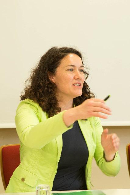 Die neue Bundessprecherin der Grünen: Ingrid Felipe