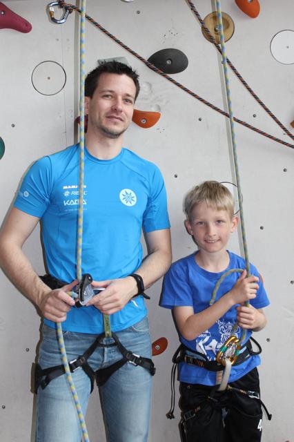 Siefried Gruber mit Franz Anglmayer