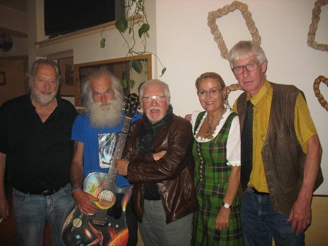Thomas Mikel, Centauri Alpha, Manfred Traar, Helga Cech und Paul Schönauer