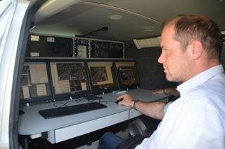 Peter Svehla kontrolliert, wer auf NÖs Autobahnen drängelt.