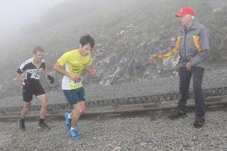 Kurz vor dem Ziel lagen Daniel Rohringer und Raimund Reindl noch eng beisammen.