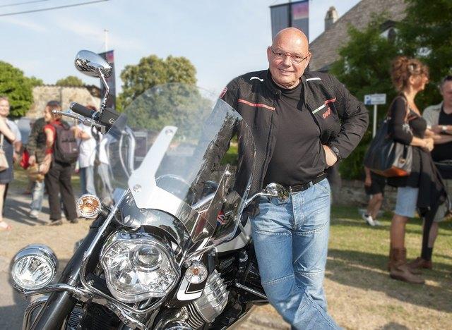 Am 15. Juli mit dem Motorrad und Wolfgang Böck zu den Schloss-Spielen Kobersdorf 2017.