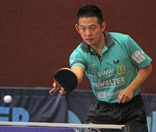 Der Chinese Jianjun Wang konnte die Niederlage der Welser nicht verhindern.
