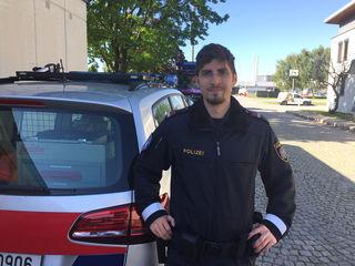 Mit der A4 das derzeit schwierigste Pflaster in Österreich: Christoph Hütter von der Autobahnpolizei Schwechat.