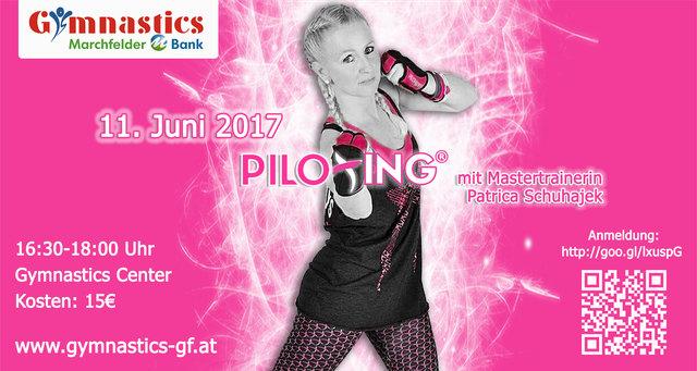 Am 11. Juni 2017 findet ein Piloxing® Special mit Mastertrainerin Patricia Schuhajek im Gymnastics Center Gänserndorf statt.