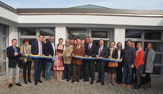 """Bei der Eröffnung im November war der Kindergarten noch """"wasserfest""""."""