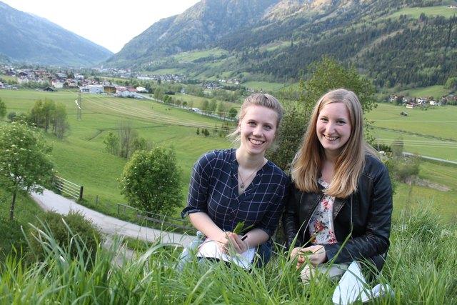 Johanna Laubichler und Stefanie Wallinger (Landjugend Enns-Pongau)
