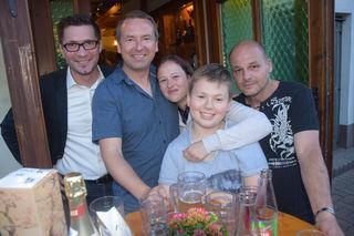 Thomas Kravec, Martin Wühl, Sandra Fischer, Raphael, Klaus Gritsch.