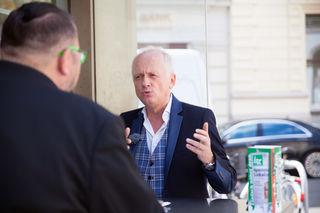 bz-Interview beim Bitzinger: Rapid-Stadionsprecher Andy Marek spricht über Grün-Weiß und seine Leidenschaft fürs Singen.