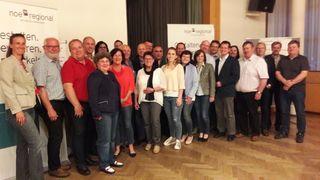 Teilnehmer der Kleinregionalen Strategiesitzung Tullnerfeld West