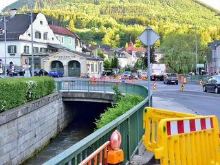 Baustelle in Waidhofen ...