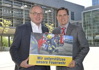 LH-Stv. Dr. Stephan Pernkopf und LAbg. Christoph Kaufmann