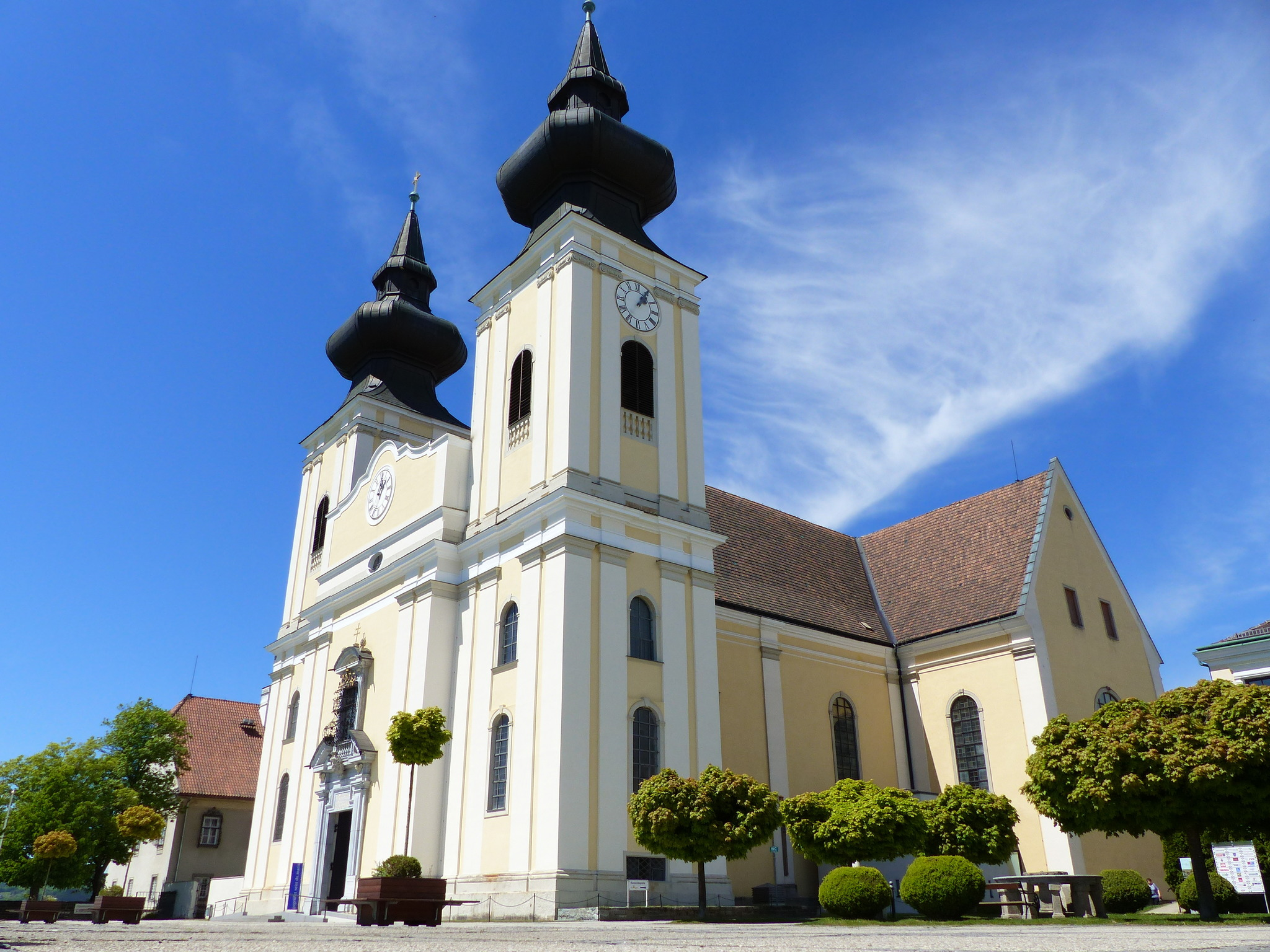 Wallfahrtskirche Maria Taferl - Melk