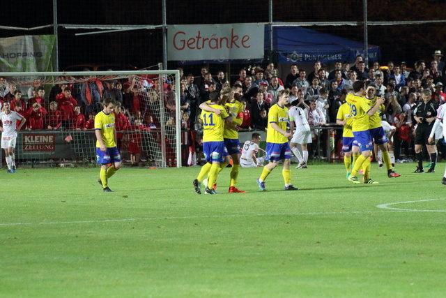 Der DSC jubelt, der GAK ist geschlagen: Christian Dengg traf in der Verlängerung zum Finaleinzug im WOCHE Steirer-Cup.