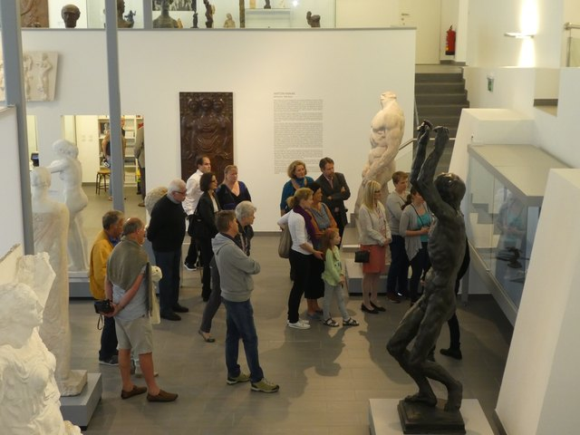 BesucherInnen beim Internationalen Museumstag; Foto: LEMU