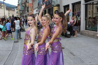 """Die Mädels von """"The Dance Experience"""""""