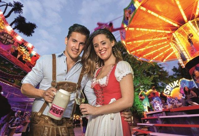 Das Lachauer Volksfest 2017: Von 24. August bis 3. September erwartet die Besucher wieder Vergnügen, Action und Genuss im Kremser Stadtpark