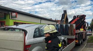 Auch die Feuerwehr Inprugg war im Einsatz.