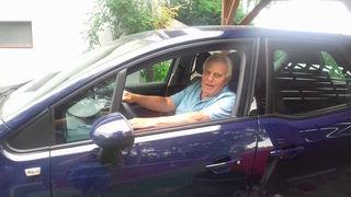 Peter Drexler (83) aus Altlengbach hat seinen Führerschein seit 56 Jahren und fährt pro Jahr rund 15.000 Kilometer.