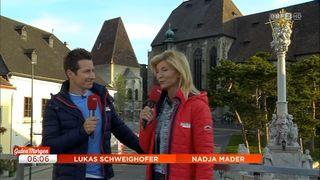 Am 14. Juni war das ORF-Frühstücksfernsehen zu Gast in Perchtoldsdorf