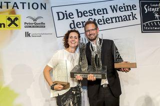 """""""Weingut des Jahres"""": Petra und Walter Frauwallner aus Straden"""