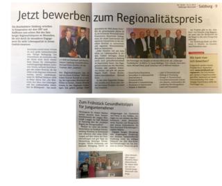 """Faksimile """"Salzburger Wirtschaft"""" 23/24 2017"""