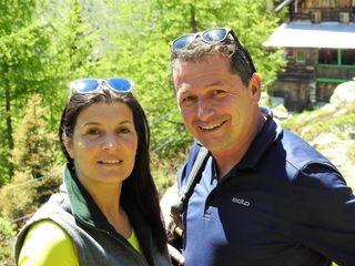 Martina und Robert Graimann stürzen sich ins Bergabenteuer