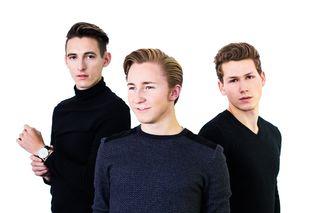 """Mit ihrer Band """"The Oceans"""" erfolgreich: Christoph Martin, Sebastian Klein und Lukas Stangl (v.l.)."""