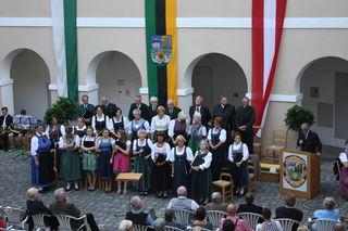 Die Singgruppe Gauby lädt am 30. Juni zum Jubiläumskonzert ins Schloss Maria Lankowitz.