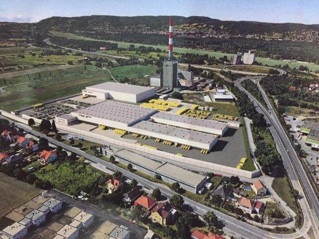 So könnte, laut Post-Aussendung, das Logistikzentrum in Langenzersdorf aussehen. Jetzt prüft auch die EU-Kommission das Umwidmungsverfahren.