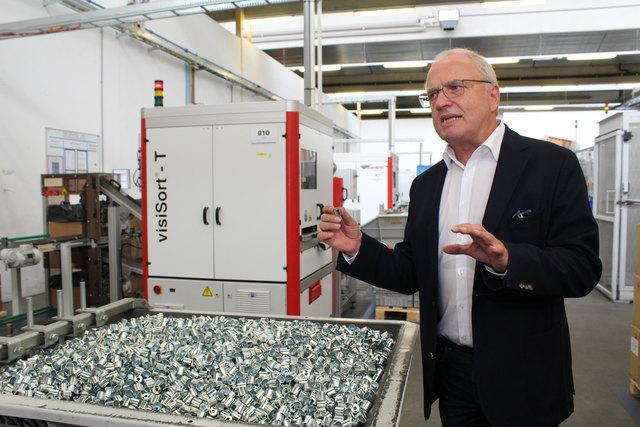 2,3 Milliarden Teile verlassen jährlich die Produktion von Mark in Spital am Pyhrn.