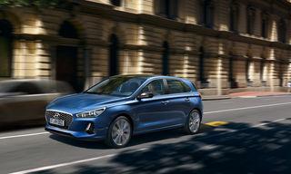 Hyundai i30 – mit nur 110 PS überzeugt der 1,6-Liter-Diesel mit Spritzigkeit und Laufruhe. Der neue i30 liefert neben Sportlichkeit auch viel Komfort: mit Assistenzsystemen und Platzangebot.Fotos: Hyundai