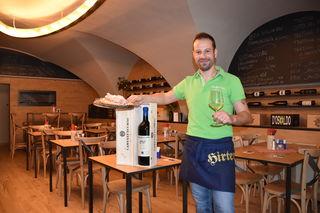 Der italienische Koch Stefano Clausero  aus Friaul bringt den Geschmack seiner Heimat nach Klagenfurt