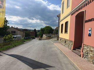 Die Kulmstraße ist nach dem Gemeindeamt Pischelsdorf für Kraftfahrzeuge gesperrt.
