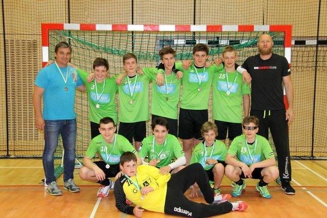 Die HSG ist bereit: Sowohl U14 als auch U16 (im Bild) vertreten Österreich bei den diesjährigen United World Games.