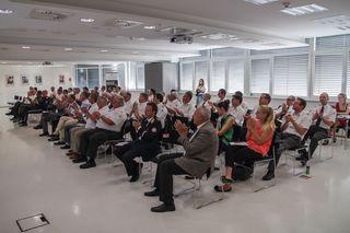 Vertreter aller Rotkreuz-Bezirksstellen und anderer Vereine waren bei der Generalversammlung vertreten