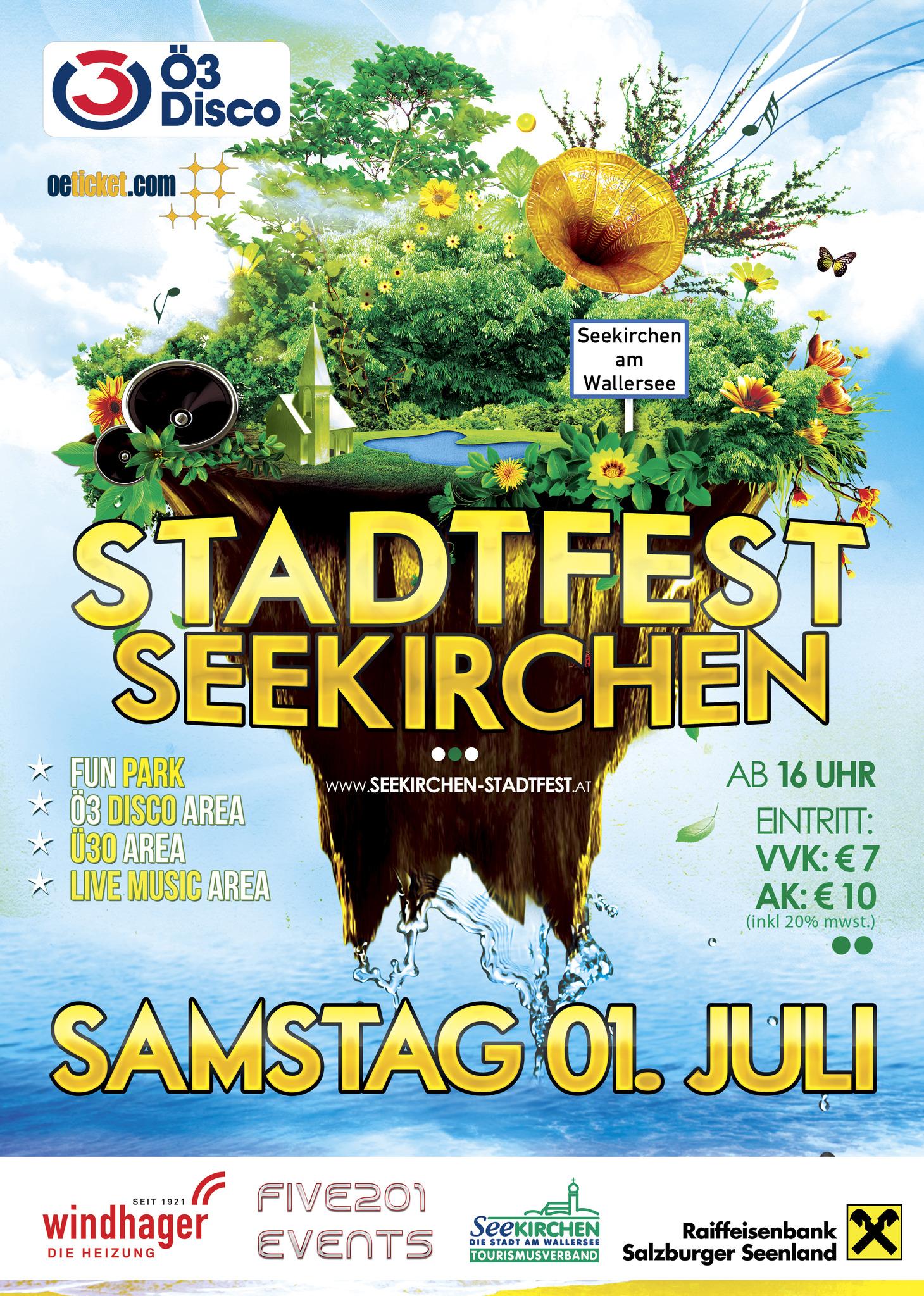 Stadtfest Seekirchen 01072017 Flachgau