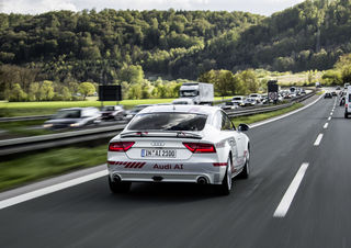 Audi will den Einsatz Künstlicher Intelligenz im Auto vorantreiben