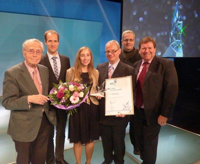 Verleihung des Preises für den Topsportverein Österreichs 1. SK Ottakring